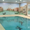 Venetian swimming pool mural